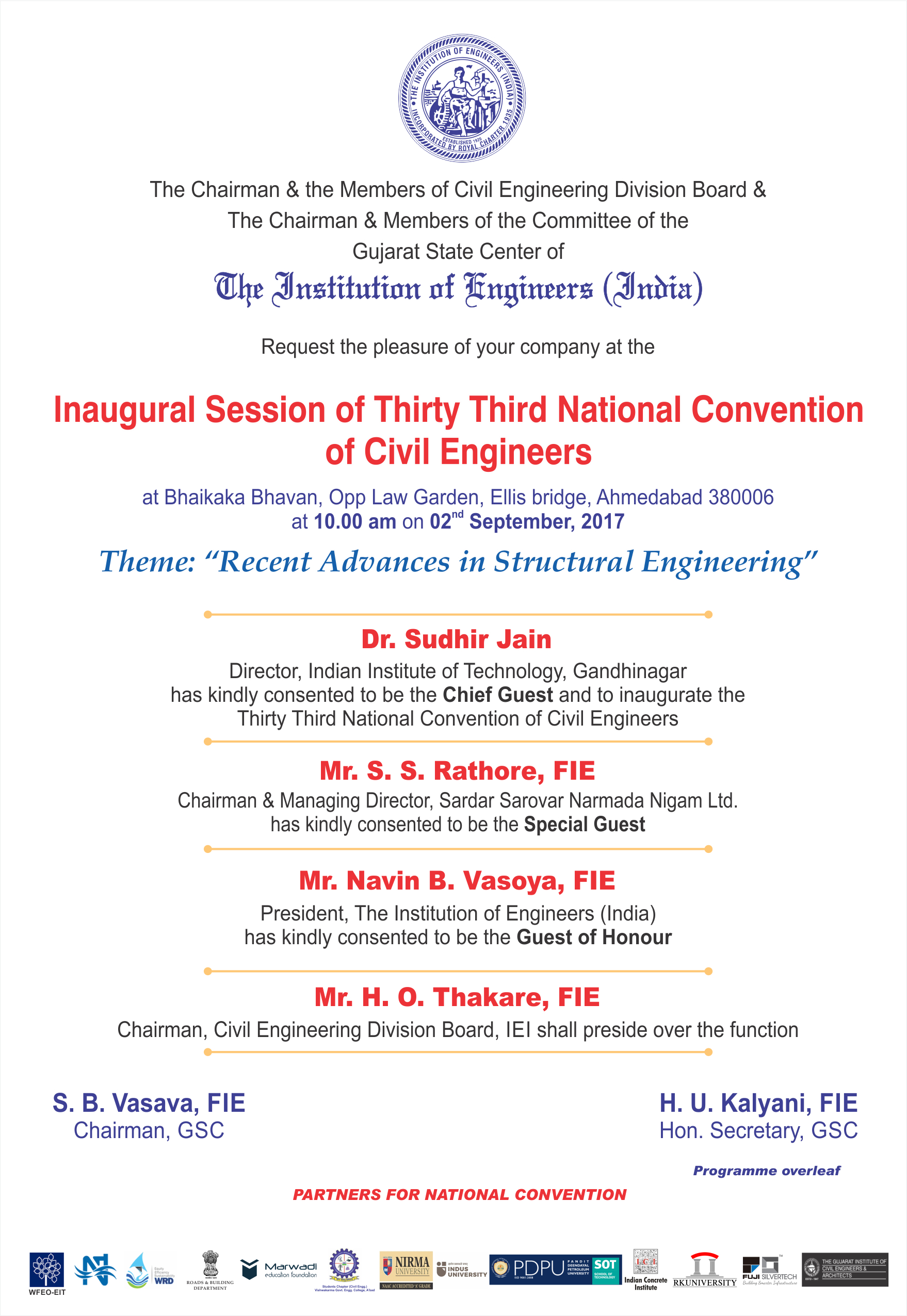 National Convention _ Invitation_Front